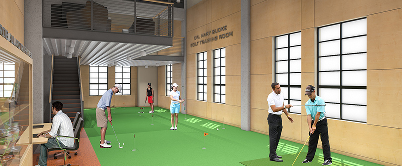 Bud and Maxine Ossey Golf Center Update