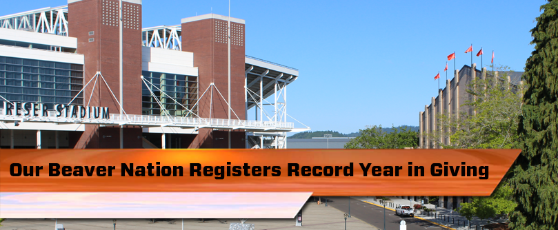 Record Giving for Athletics in FY15