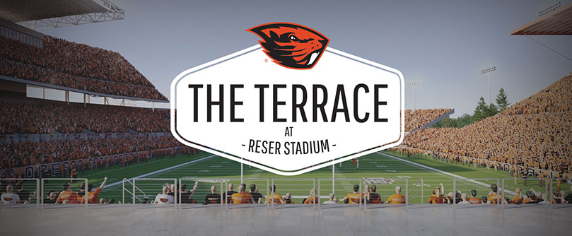 Terrace at Reser Stadium